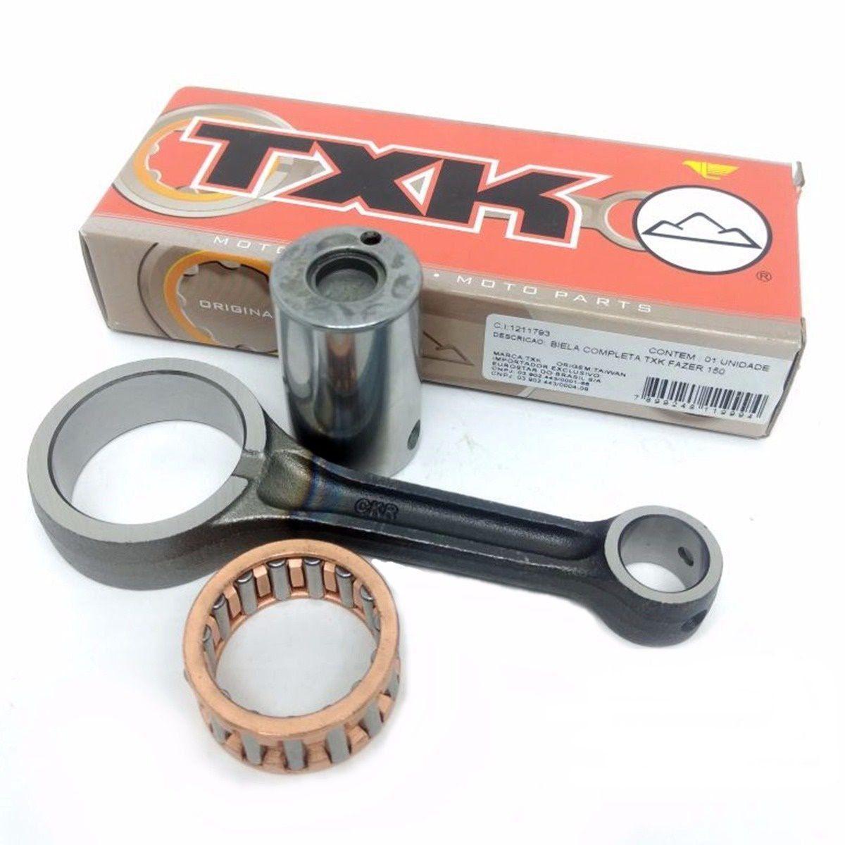 Biela Completa Txk  Fazer 150 2014/ -Xtz Crosser 150  Factor 150 2016/