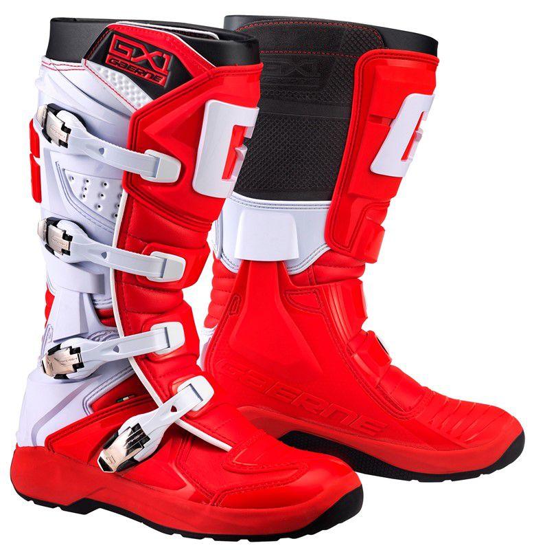 Bota Gaerne Gx1 Evo Vermelho Motocross