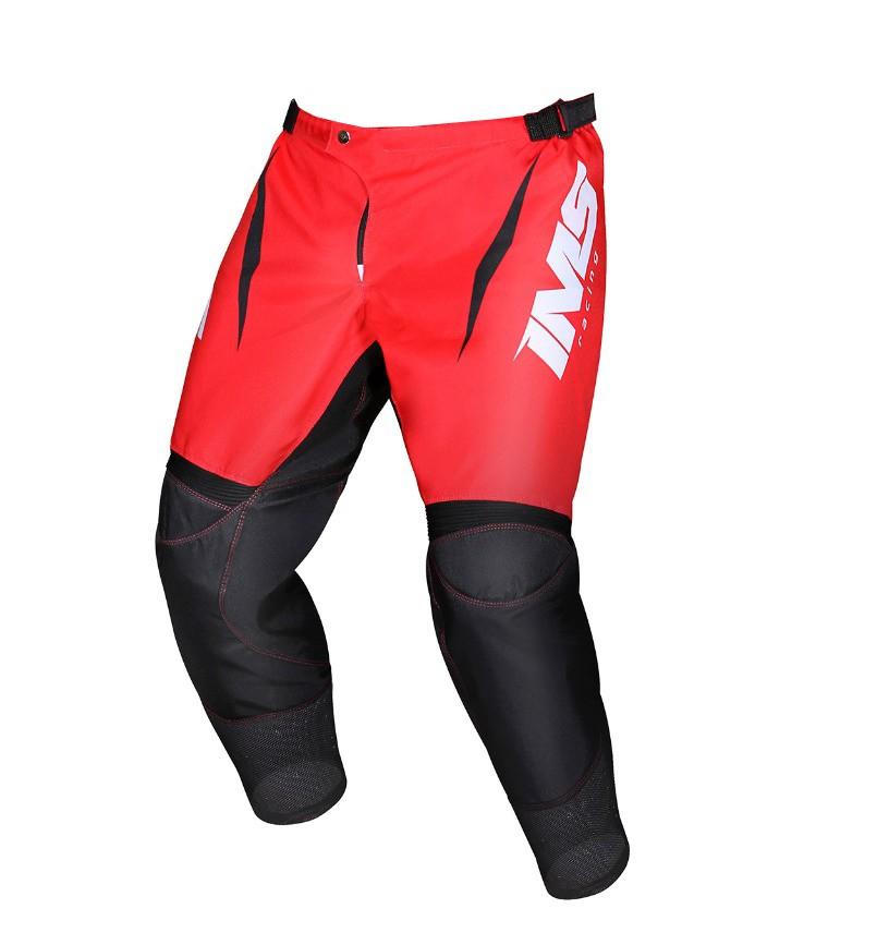 Calça Ims Mx Vermelho Motocross Trilha Enduro