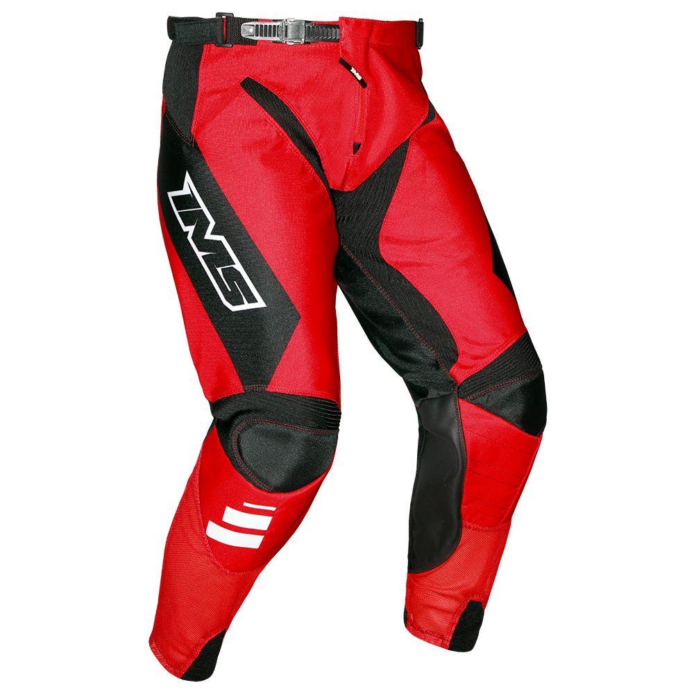 Calça Ims Sprint Vermelha Motocross Trilha