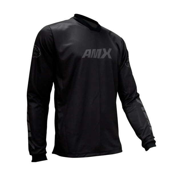 Camisa Amx Prime Cross Preto Trilha Motocross