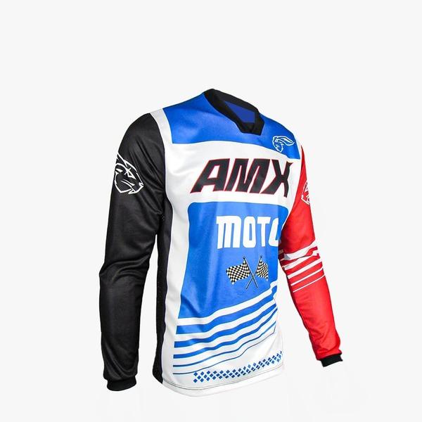 Camisa Amx Prime Moto Trilha Motocross