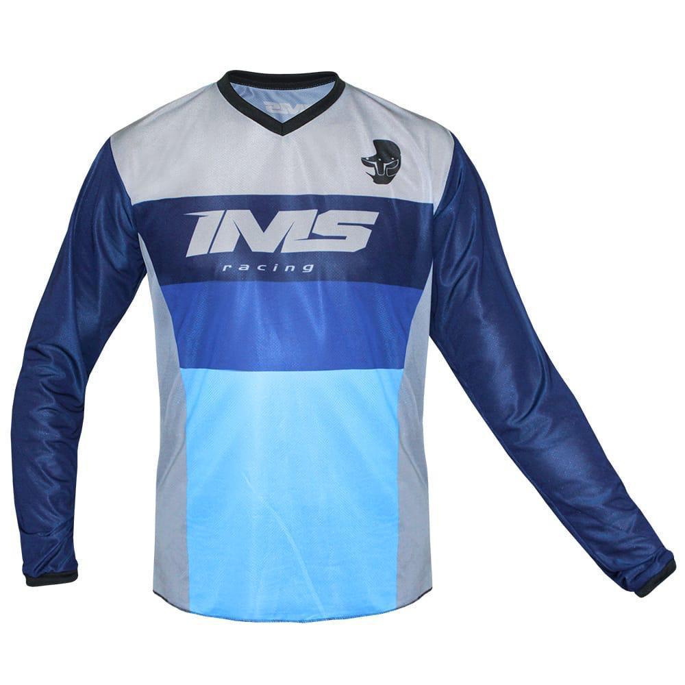 Camisa Ims Concept Azul Trilha Motocross