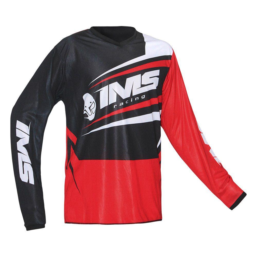 Camisa Ims Flex Tamanho Grande (GGG) P/ Biker Motocross  Trilha