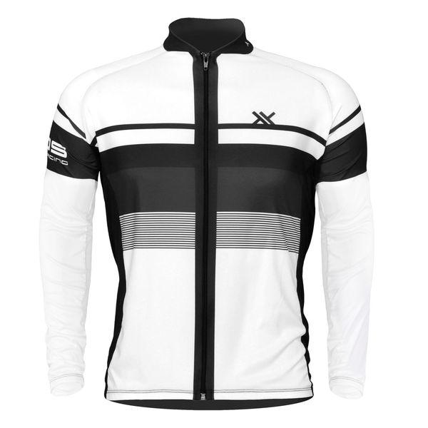 Camisa Mattos Bike Track 2 Branco Manga longa Ciclismo