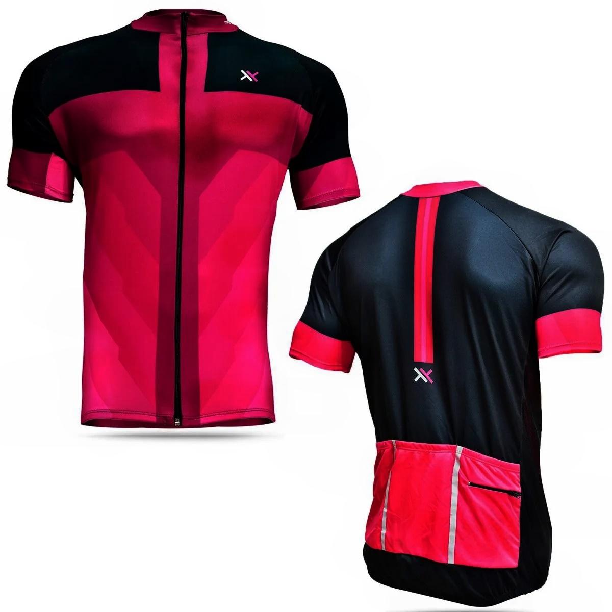 Camisa Mattos Feminina Ciclismo Rosa