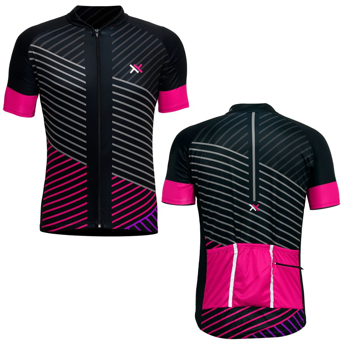 Camisa Mattos Lines Feminino Ciclismo Rosa