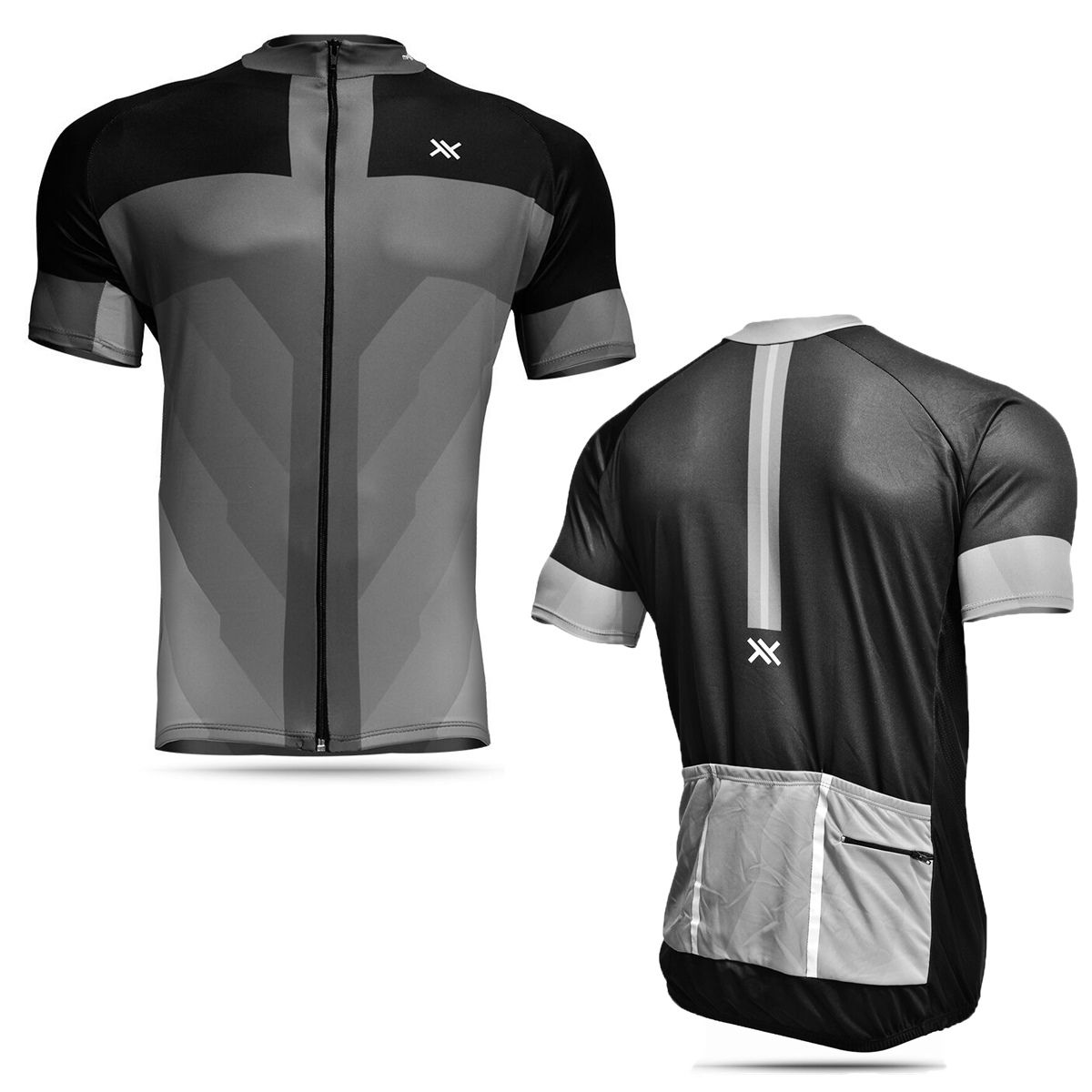 Camisa Mattos Masculina Ciclismo Cinza