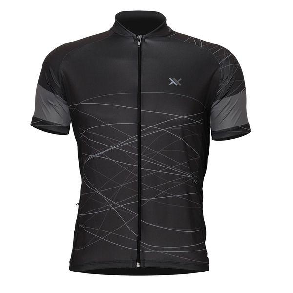 Camisa Mattos Racing Bike Cinza Lines 2 Ciclismo