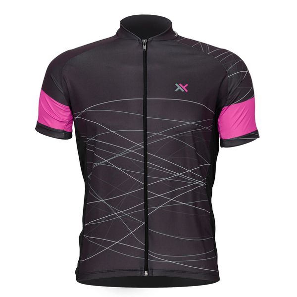Camisa Mattos Racing Feminina Bike Lines 2 Rosa Ciclismo