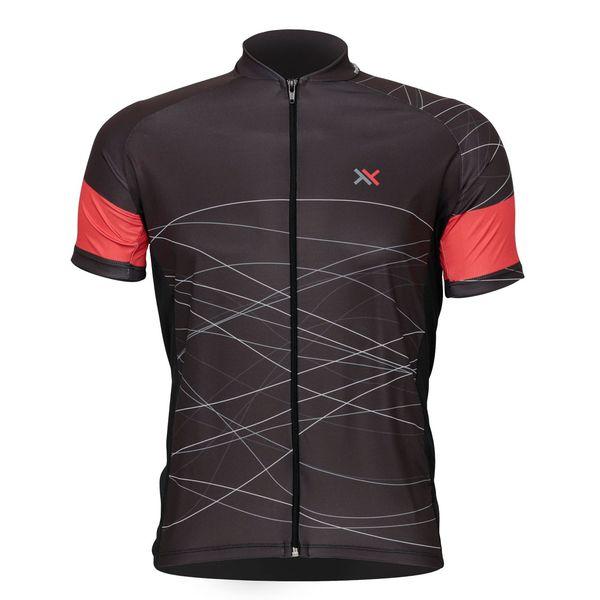 Camisa Mattos Racing Lines 2 Vermelho Ciclismo