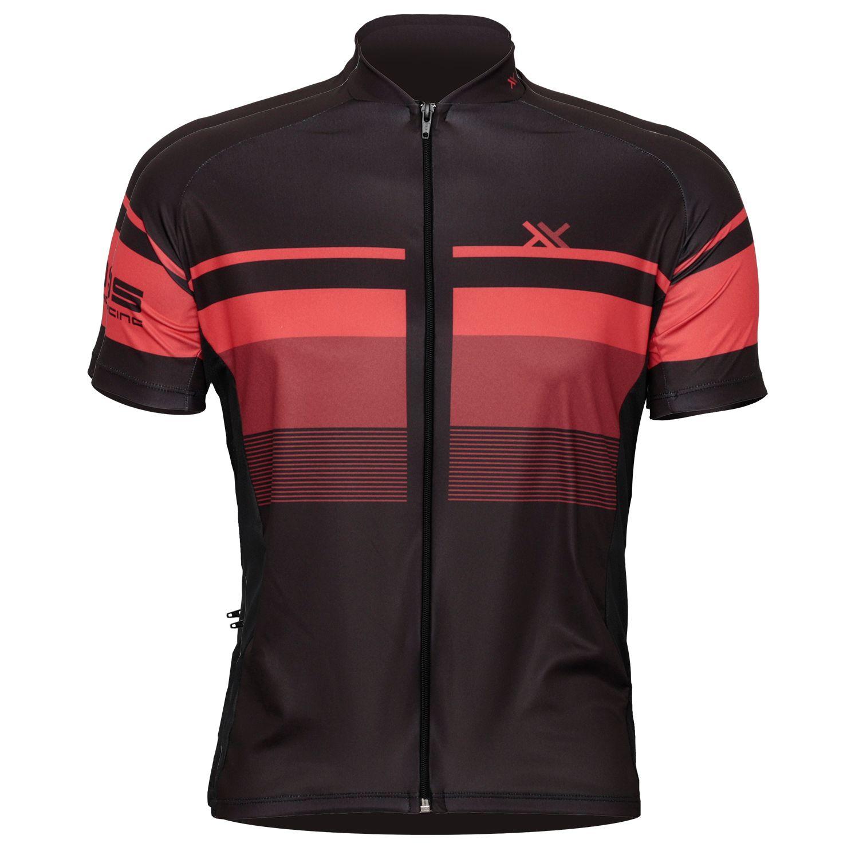 Camisa Mattos Racing Track 2 Vermelho Bike Ciclismo