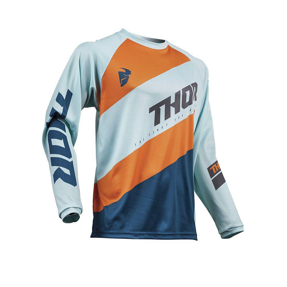 Camisa Thor Sector Shear Azul / Cinza