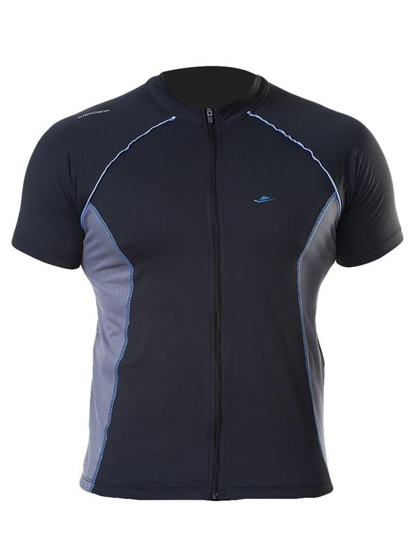 Camiseta Elite Bike Preto Cinza Ciclismo Bike