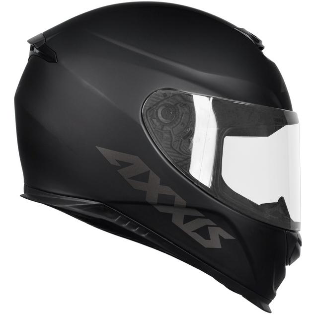 Capacete Axxis Eagle Solid Mono Matt Preto Cinza