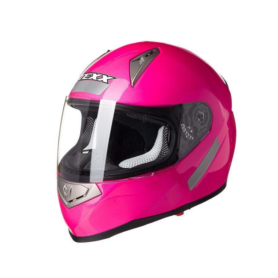 Capacete Texx Race Double Vision Rosa S-56