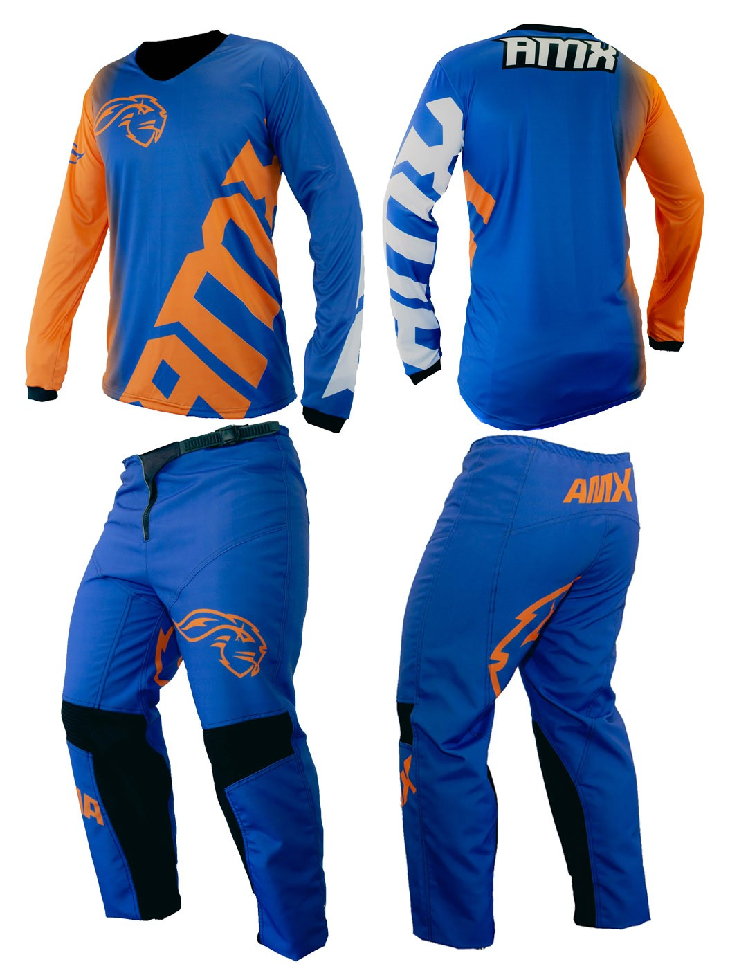 Conjunto Camisa Calça Amx Classic Extreme Trilha Motocross
