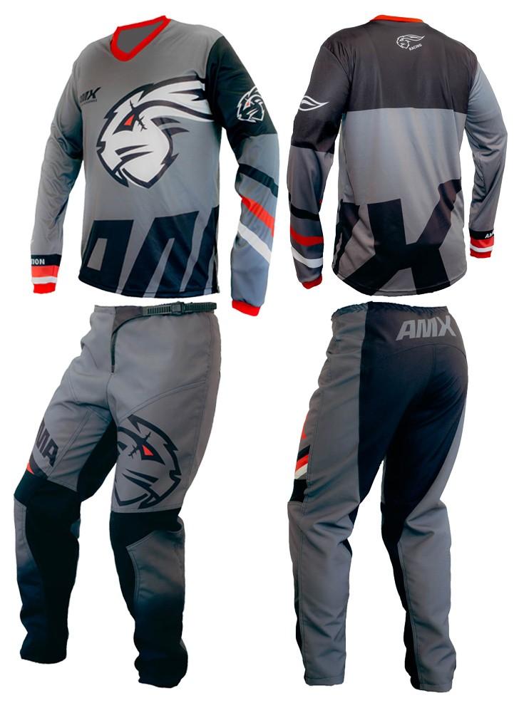 Conjunto Camisa Calça Amx Classic Trail Trilha Motocross