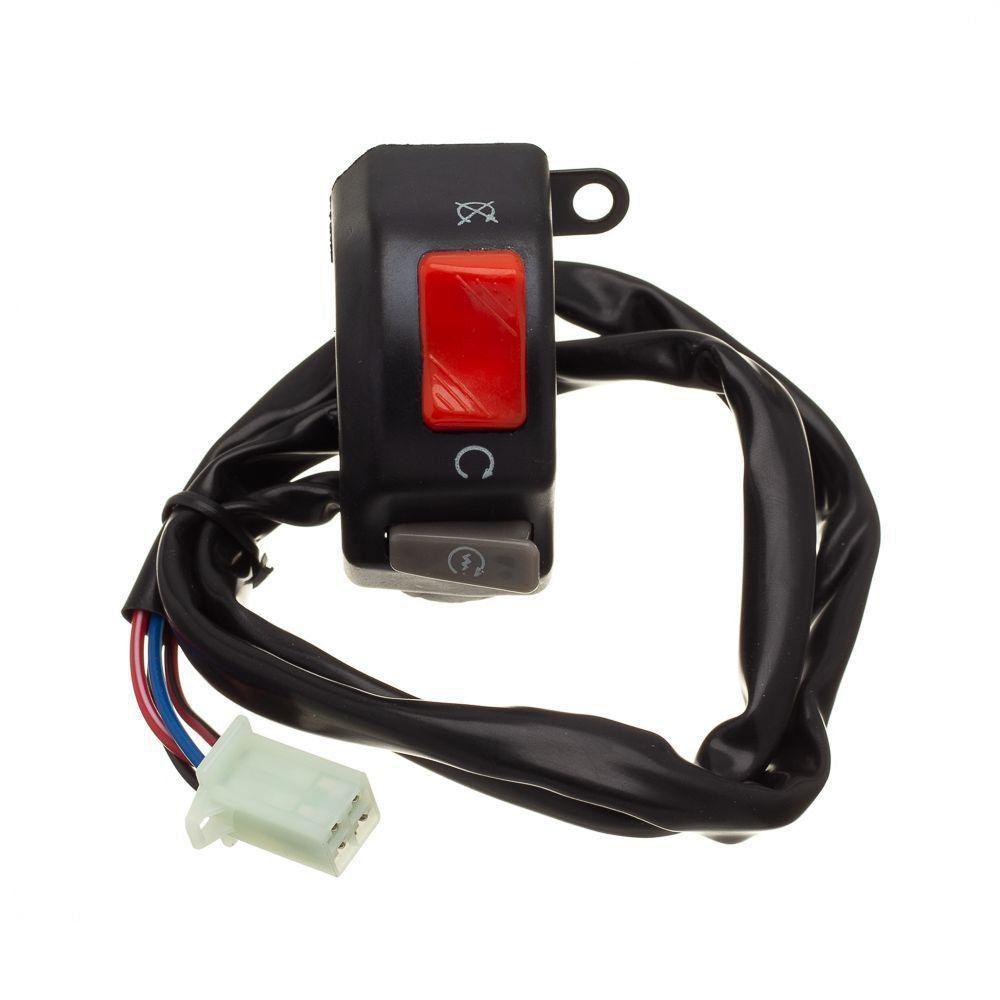 Conjunto Interruptor Emergencia E Partida Condor Lander 250 07 A 08