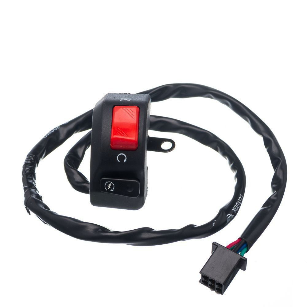 Conjunto Interruptor Emergencia E Partida Condor Xtz Crosser 150 E