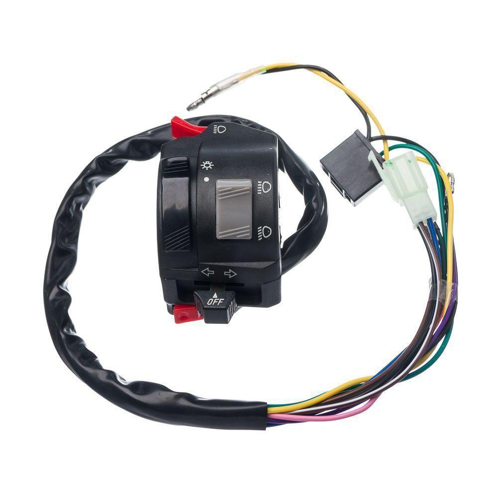 Conjunto Interruptor Luz Condor Esquerdo Ybr 125 Factor 00 A 13 Xtz 125 03...