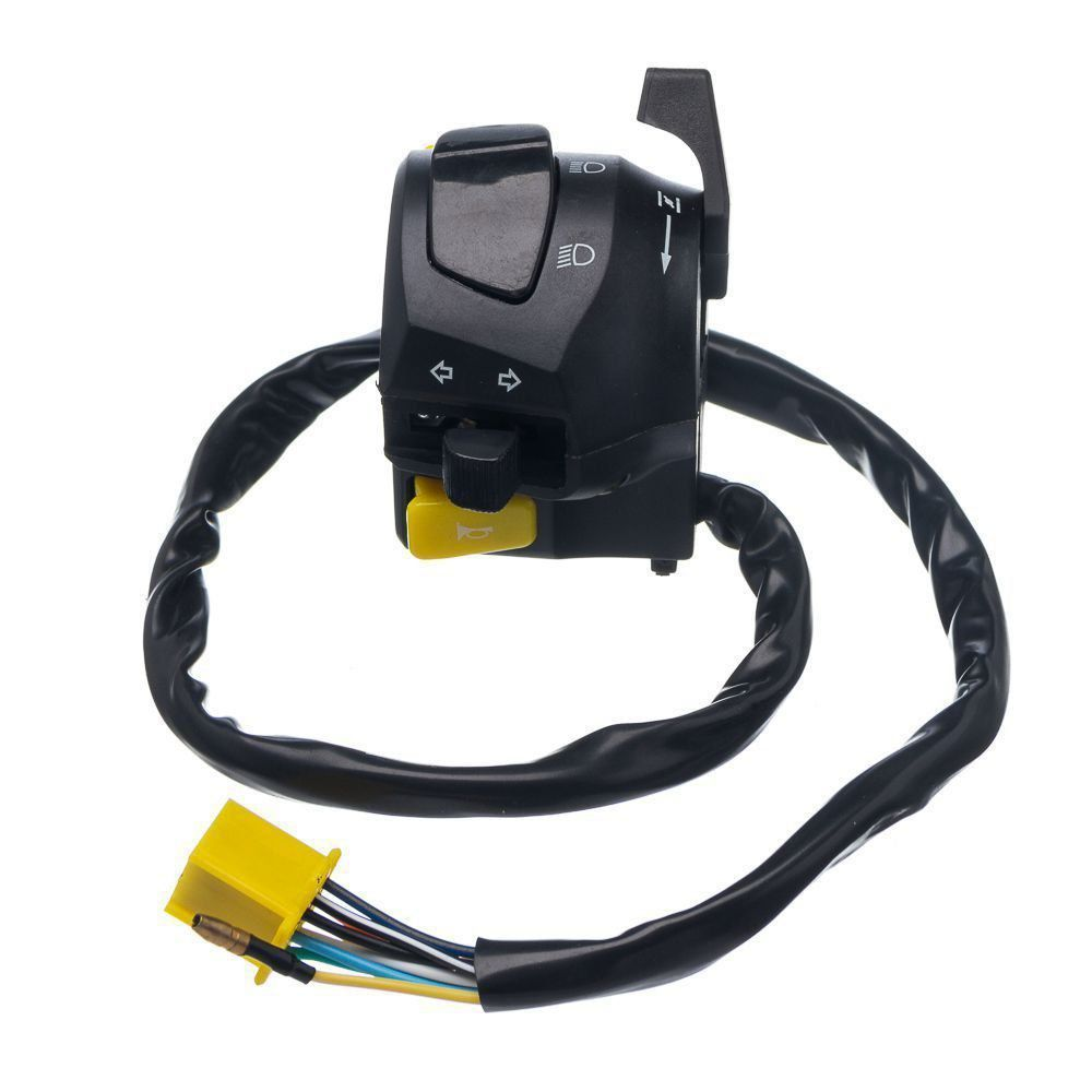 Conjunto Interruptor Luz Condor Esquerdo Yes 125 08 A 10 (09 Fios)