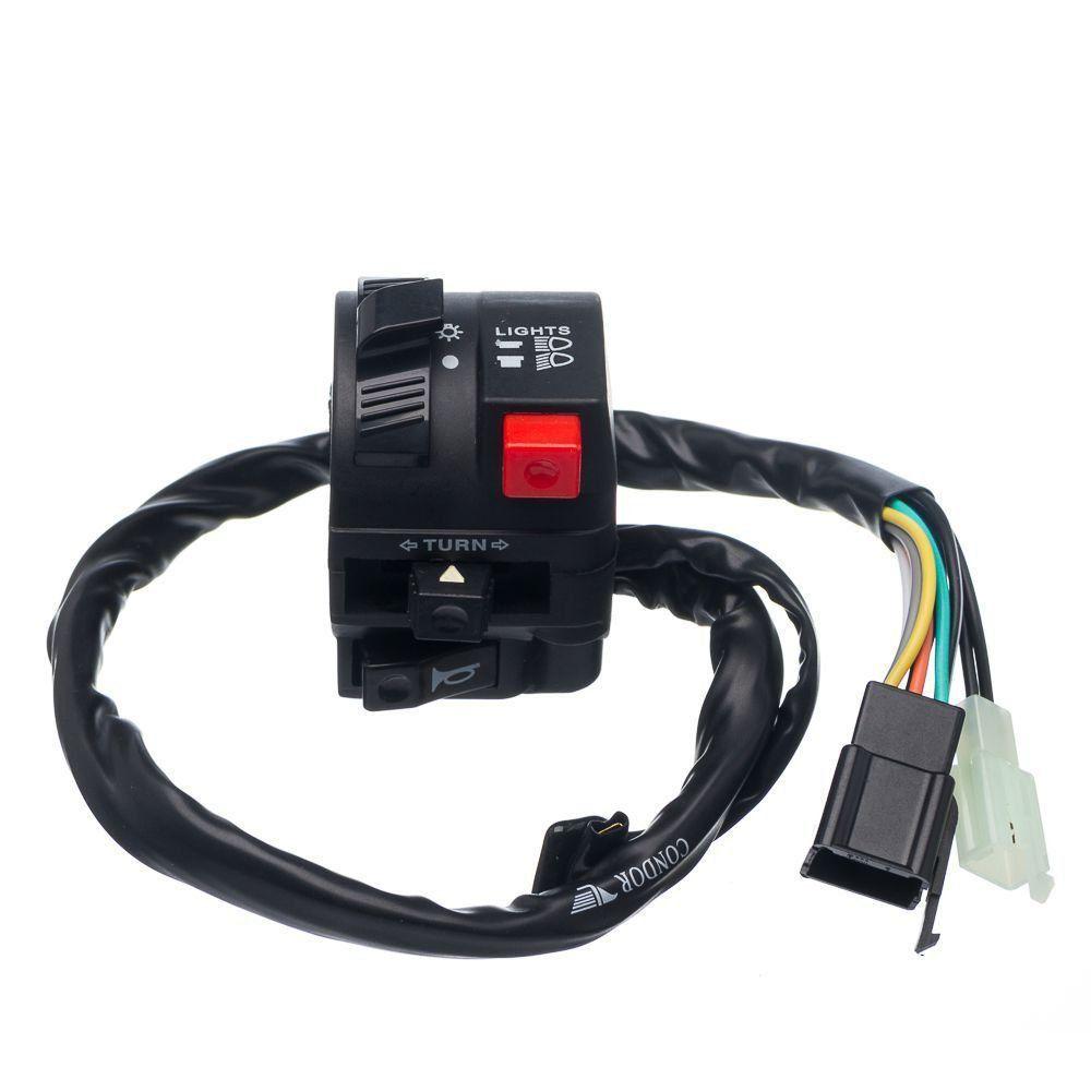 Conjunto Interruptor De Luz Condor Esquerdo Bros 125 03 A 05 Es Esd