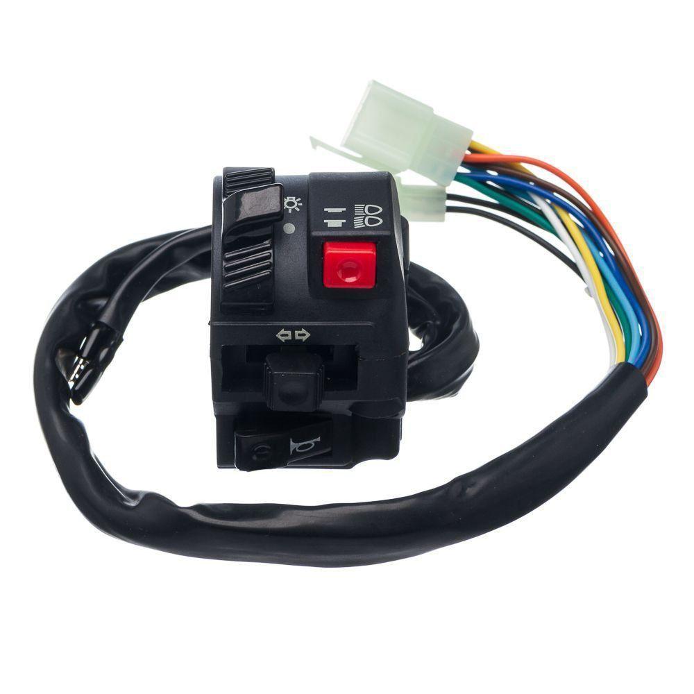 Conjunto Interruptor Luz Condor L.Esquerdo Cg 125 00 A 04 Esd