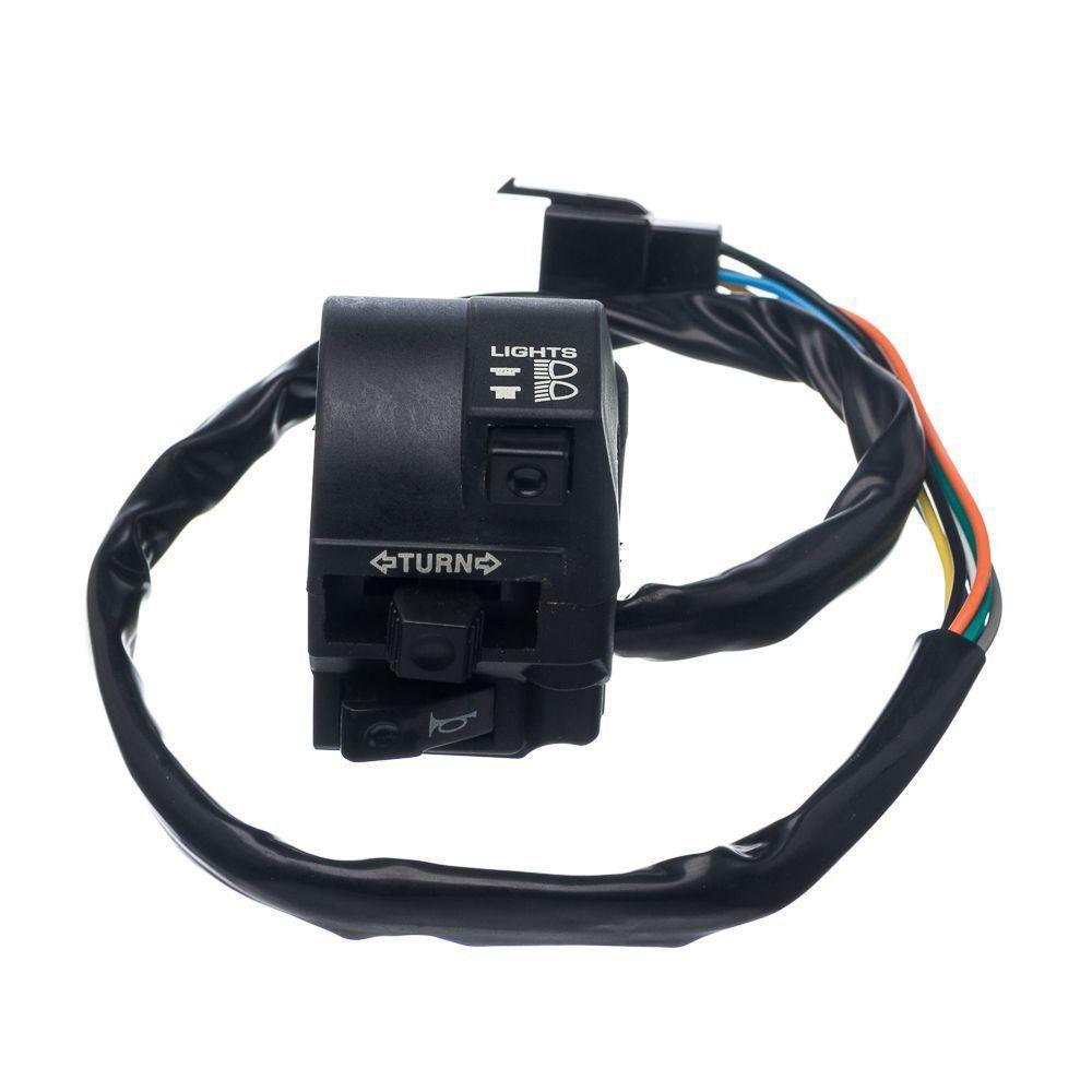 Conjunto Interruptor Luz Condor Esquerdo Cg 150 04 A 08 Ks 125 Fan
