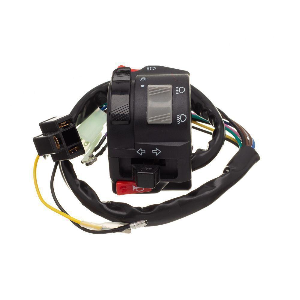 Conjunto Interruptor Luz Condor Esquerdo Fazer 250 2005 A 2010