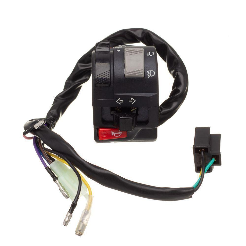 Conjunto Interruptor Luz Condor Lado Esquerdo Fazer 250 2011...