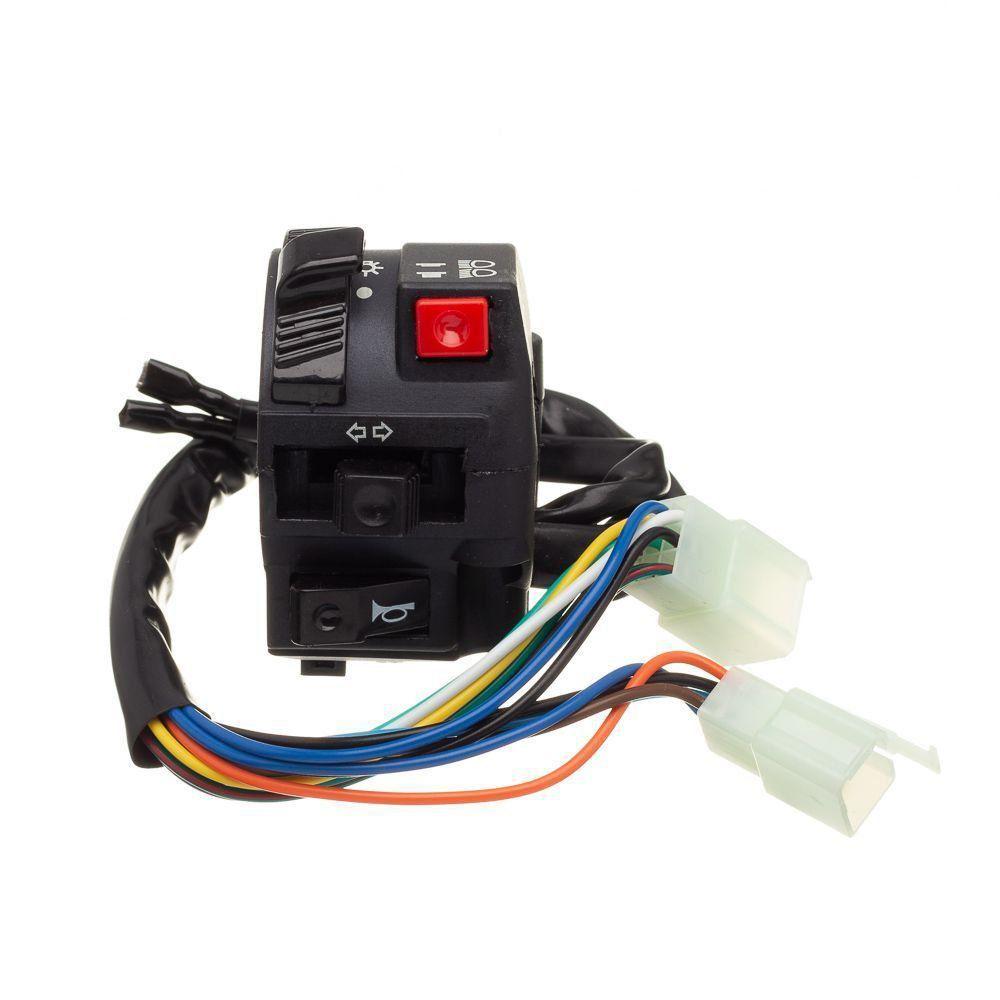 Conjunto Interruptor Luz Condor L.Esquerdo Xlr 125 Es 01 A 02
