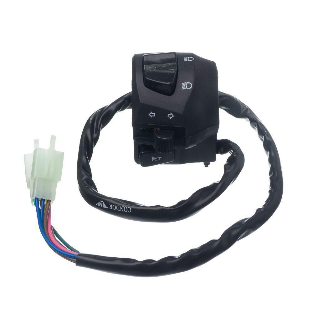 Conjunto Interruptor Luz Condor L.Esquerdo Xtz Crosser 150 E/Ed