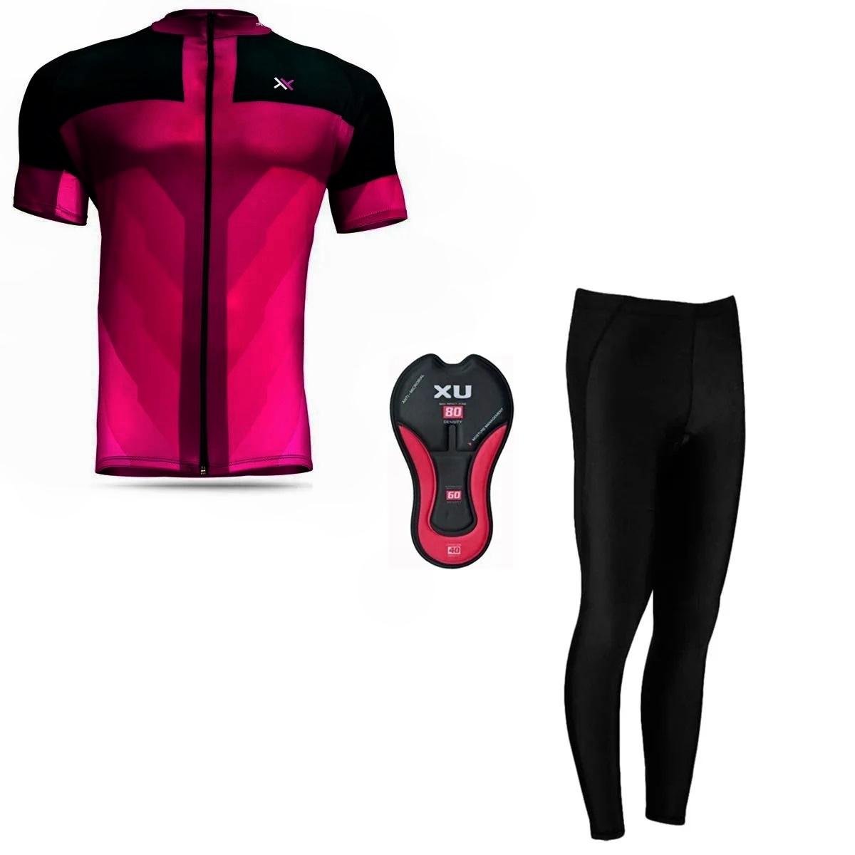 Conjunto Mattos Sprint Calça Camisa Feminino Ciclismo