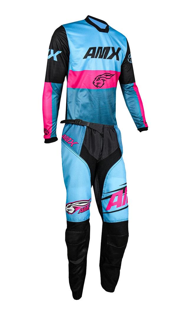 Conjunto Roupa Amx Prime Race Calça Camisa Trilha Motocross