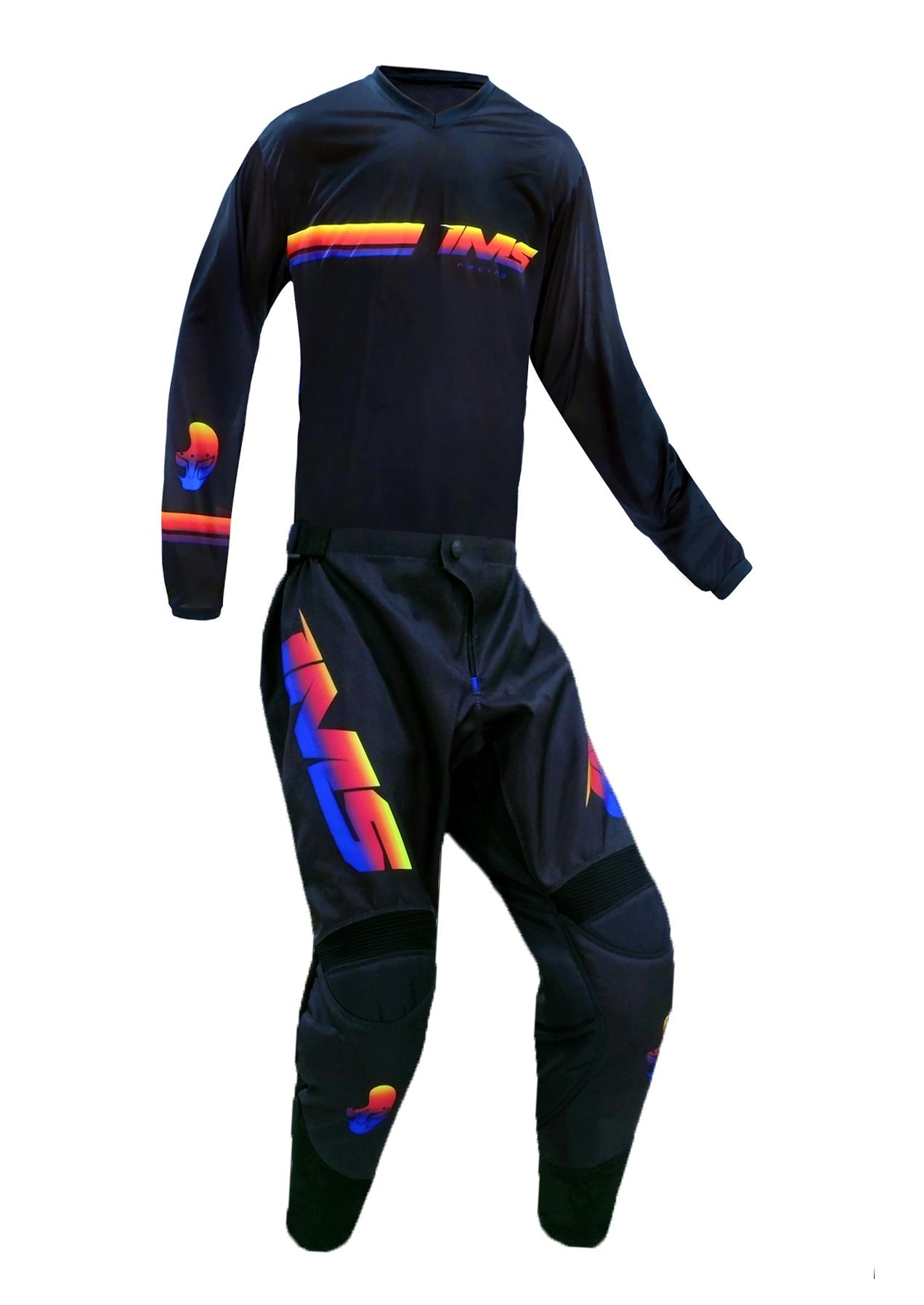 Conjunto Roupa Ims Daytona Camisa Calça Trilha Motocross