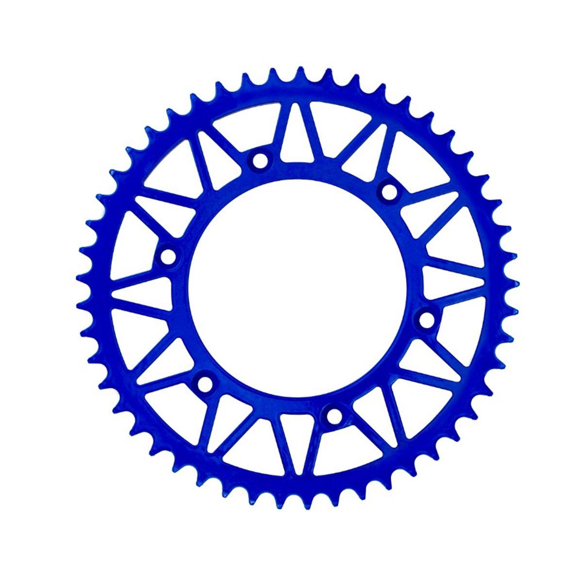 Coroa Amx Aço 1045 Azul Wr Yz 125 250 450 Xr 250 Ttr 230