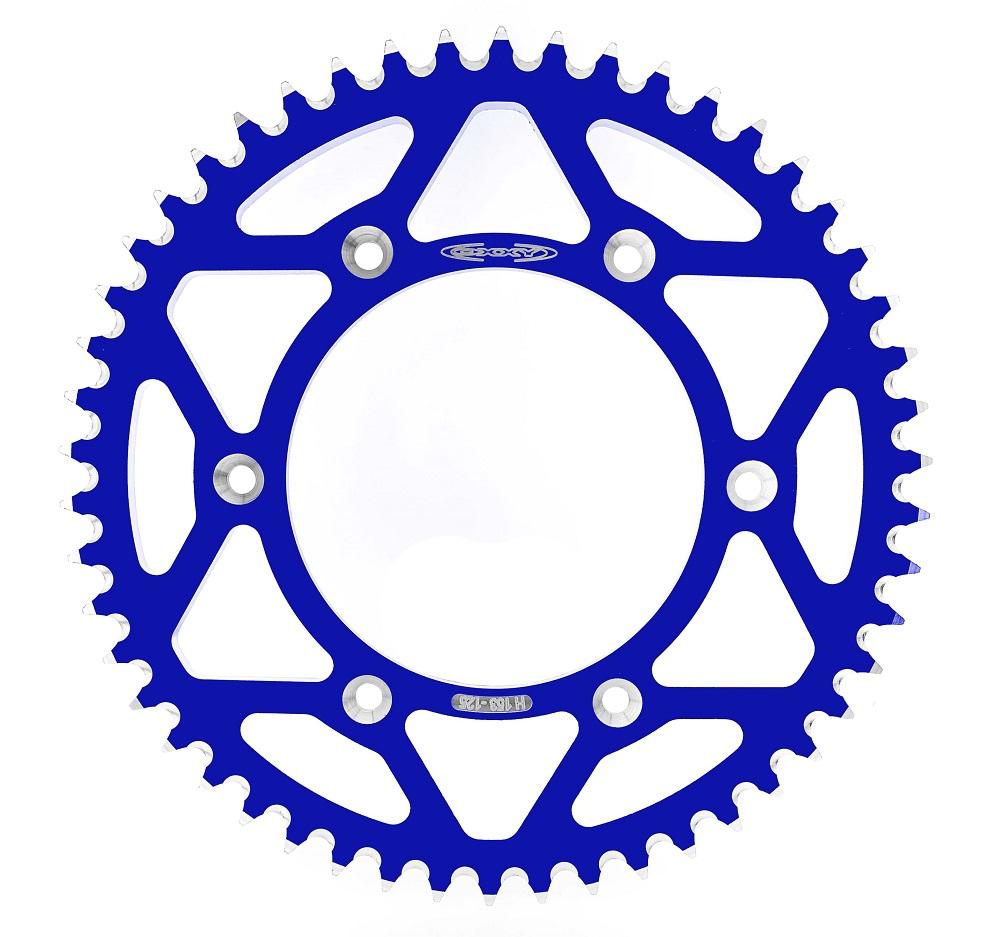 Coroa Oxxy Alumínio Azul Husqvarna Ktm Husaberg Mxf