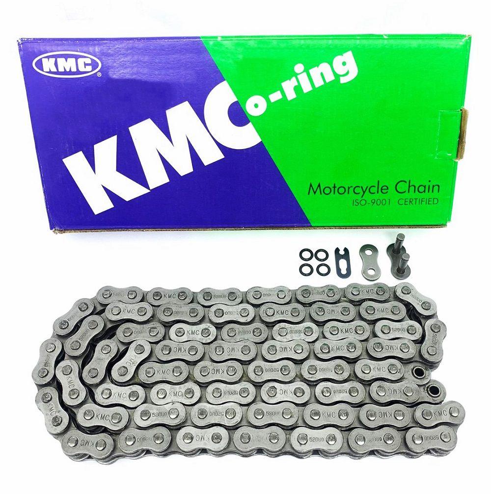 Corrente De Transmissão Kmc 120 Elos 520UO Com Retentor