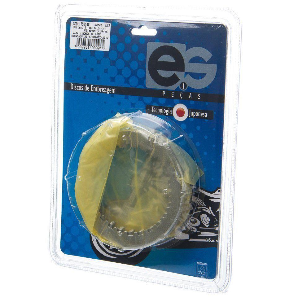 Discos Separadores Embreagem Eis Jogo Hon Xl 700V Transalp 2011>/Nc 700 X - 2013