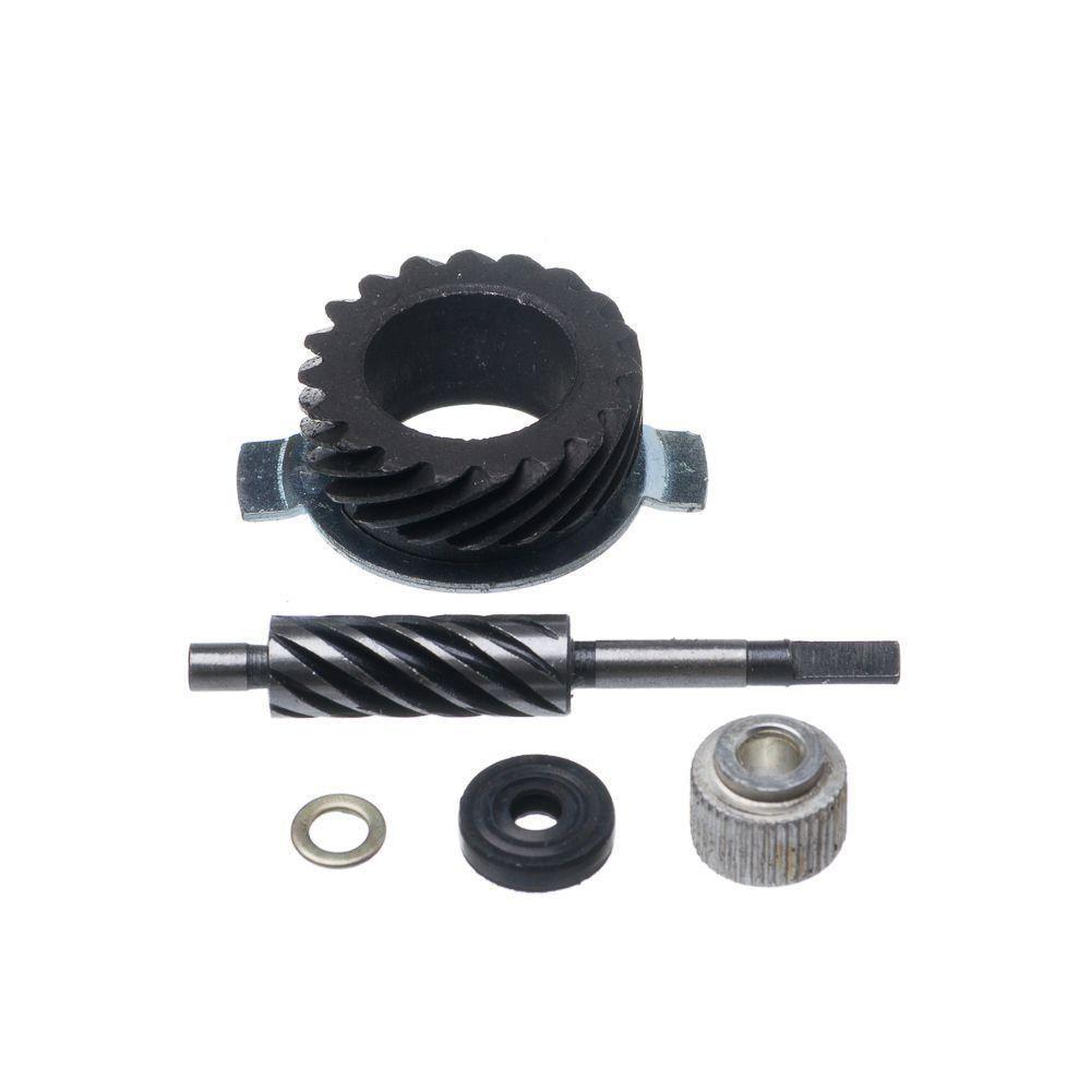 Engrenagem Velocimetro Ww3 Biz 100 Kit Com Pinhao E Motriz Aco