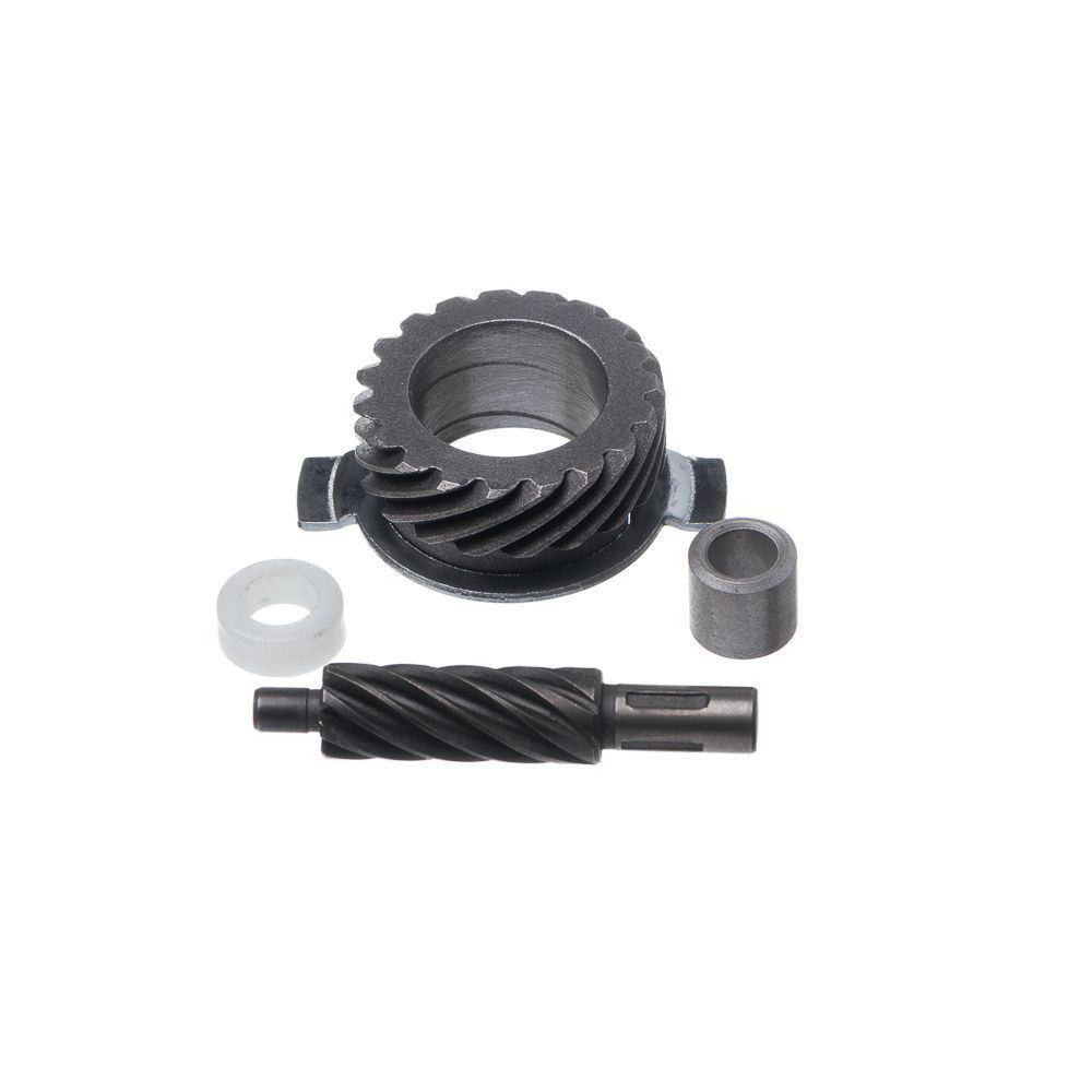 Engrenagem Velocimetro Ww3 Biz 125 Ks Pop 100 Kit Com Pinhao E Motriz Aco