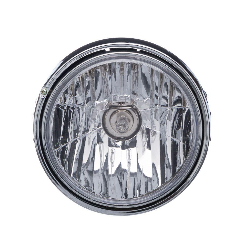 Farol Completo Com Lampada Keisi Ybr 125 06 A 08  Fazer 250 06 A 08