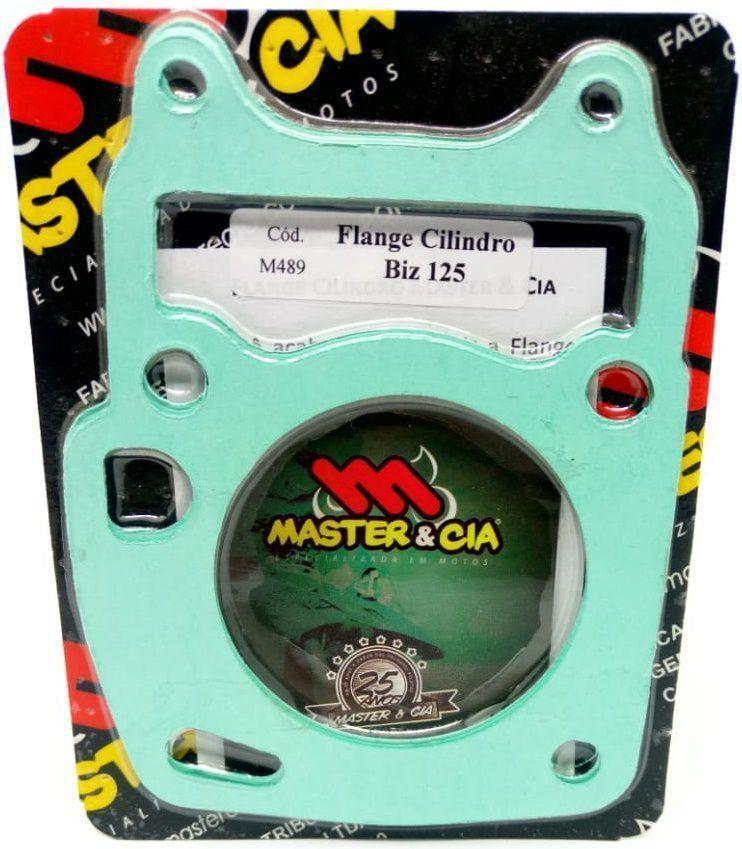 Flange Cilindro Para Pino Cursado 2mm Biz 125