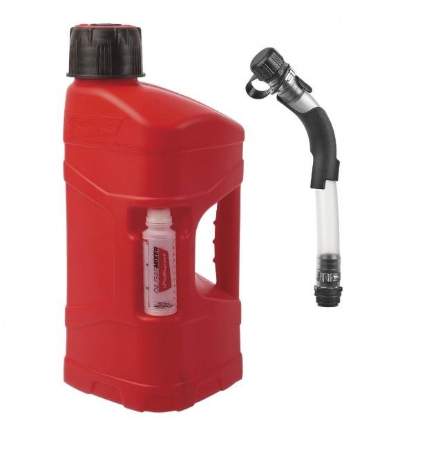 Galão Combustível Polisport 10 Litros Com Mangueira
