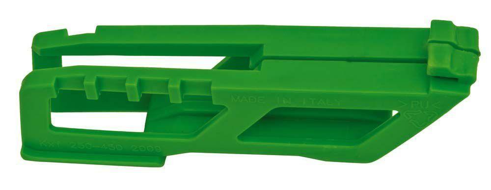 Guia Corrente Racetech Refil Traseiro Kxf 250 450 2009... Verde