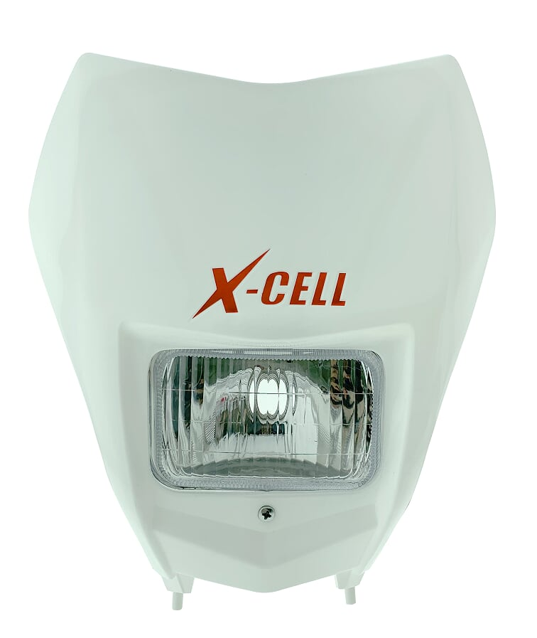 Kit Carenagem Farol X-cell Bloco Farol Allen Crf 230 2006...