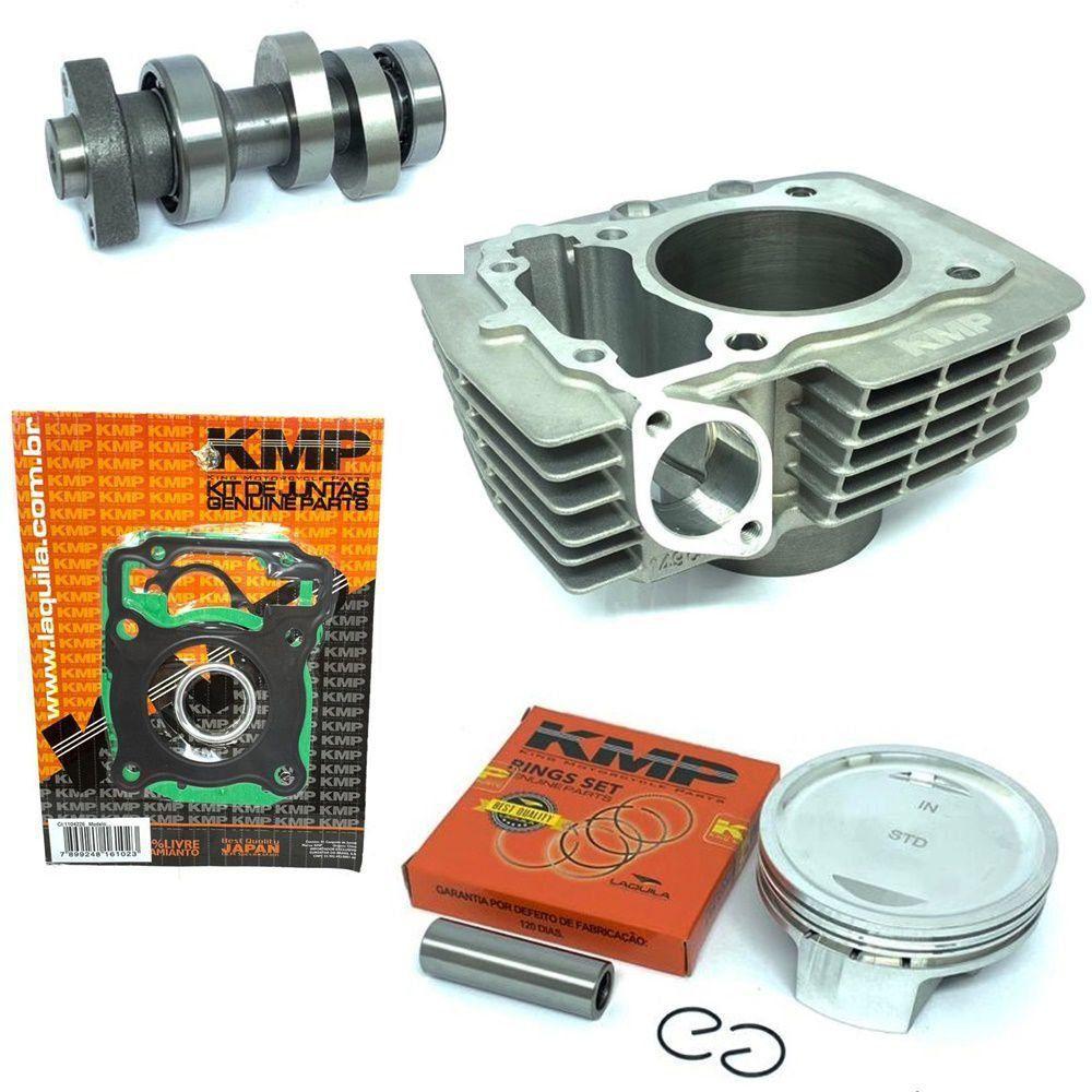 Kit Competição Cg 150 Para 220cc Completo Kmp Com Comando Ww3 310º
