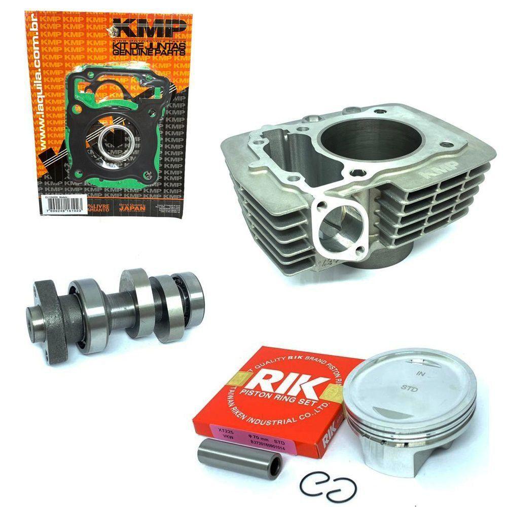 Kit Competição Cg 150 Para 220cc Completo Kmp Premium Com Comando Ww3 310º