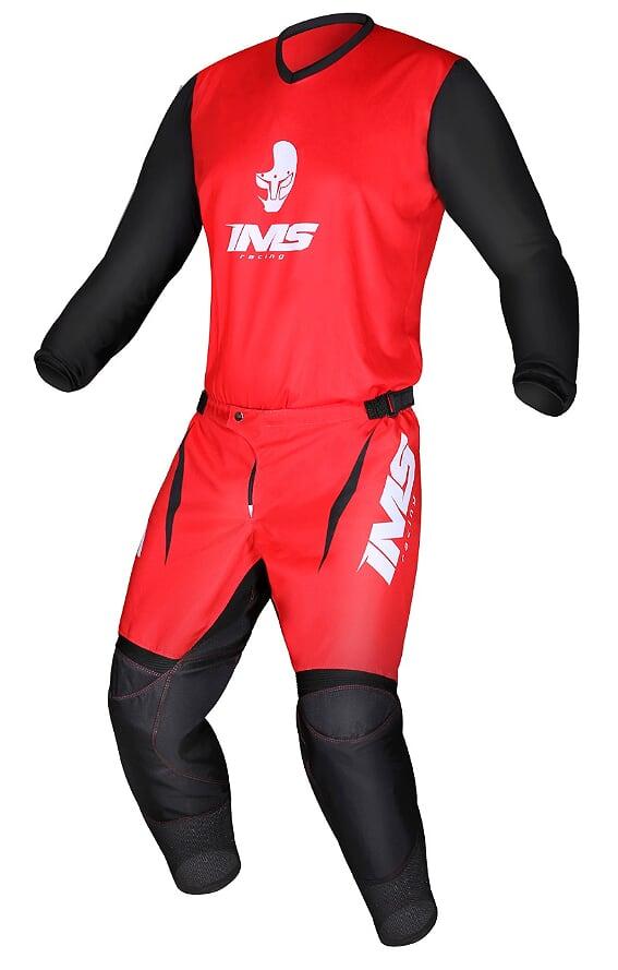 Kit Conjunto Roupa Ims Mx Calça e Camisa Vermelho